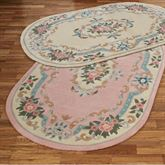 Serena Aubusson II Oval Area Rug 53 x 83 Oval