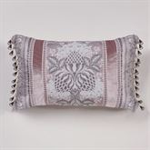 Marseille Bead Tassel Tailored Pillow Lilac Rectangle