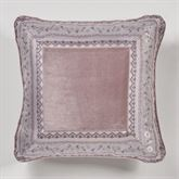 Marseille Piped Pillow Lilac 18 Square