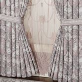 Marseille Wide Tailored Curtain Pair Lilac