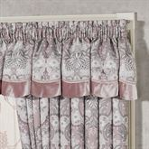 Marseille Scalloped Valance Lilac 72 x 20