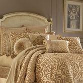 Sicily Gold Tasseled Pillow Rectangle