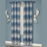 Seleca Grommet Curtain Pair Federal Blue 96 x 84