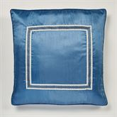 Seleca European Pillow with Sham Steel Blue