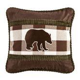 Huntsman Bear Pillow Multi Earth 18 Square