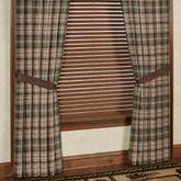 Huntsman Wide Tailored Curtain Pair Multi Earth 120 x 84