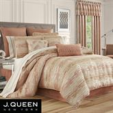 Sunrise Coral Comforter Set