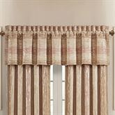 Sunrise Coral Tailored Valance 88 x 23.5