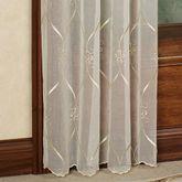 Cavalier Sheer Tailored Panel Ivory