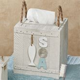 Driftwood Tissue Cover Gray