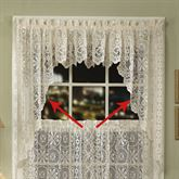 Hopewell Swag Valance Pair  58 x 38