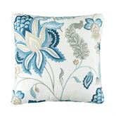 Savannah Floral Tailored Pillow Multi Cool 18 Square