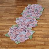 Floral Dance Rug Runner Multi Pastel 28 x 8