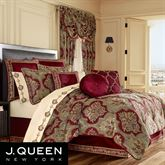 Maribella Comforter Set Ruby