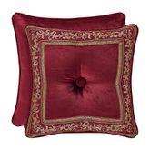 Maribella Tufted Pillow Ruby 18 Square