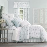 Eva Comforter Set Blue