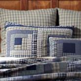 Columbus Quilted Sham Navy