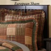 Crosswoods Flanged European Sham Multi Warm