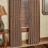 Crosswoods Curtain Pair Multi Warm