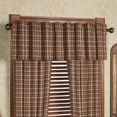 Crosswoods Tailored Valance Multi Warm 72 x 16