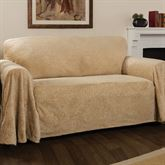 Elegant Damask Furniture Cover Straw Sofa