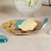 Rainbow Fish Soap Dish Multi Cool