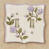 Enchanted Rose Double Switch Lavender