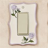 Enchanted Rose Single Dimmer Rocker Lavender