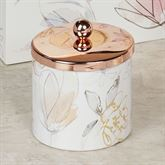 Blush and Blooming Covered Jar Multi Pastel