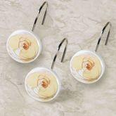 Blush and Blooming Shower Hooks Multi Pastel 12 Piece Set