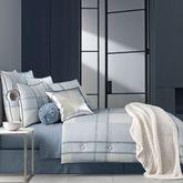 Leighton Plaid Comforter Set Blue