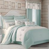 Waters Edge Comforter Set Pale Blue