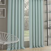 Waters Edge Tailored Curtain Pair Pale Blue 82 x 84