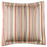 Hillhouse Striped Flanged European Sham Multi Bright