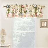 Hillhouse Tailored Valance Light Cream 72 x 16