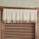 Fruitful Tailored Valance Oatmeal 60 x 14