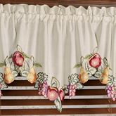 Fruitful Ascot Valance Oatmeal 24 x 18
