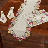 Fruitful Table Runner Oatmeal 14 x 72
