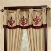 Roman Empire Tailored Swag Valance