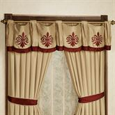 Roman Empire Wide Swag Valance