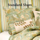 Henley Spa Quilted Standard Sham Mint Standard