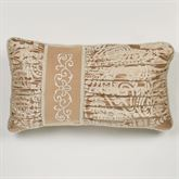 Monarch Corded Pillow Gold/Bronze Rectangle
