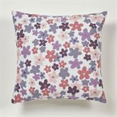 Wildflowers Tailored Pillow Ivory 16 Square