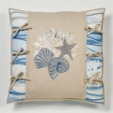 Coastal View European Pillow with Sham Sand