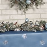 Holiday Ice Garland Blue