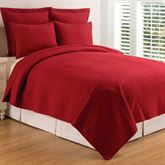 Regent Mini Quilt Set Scarlet