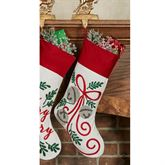 Jingle Bow Stocking Red