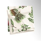 Winter Botanical Napkins Ivory Set of Four