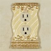 Genevia Single Outlet Pearl