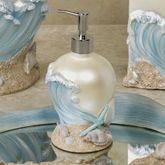 Rising Tides Lotion Soap Dispenser Blue